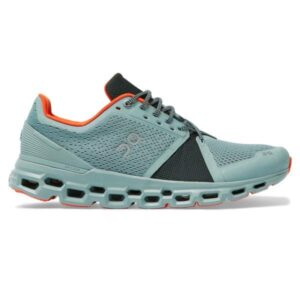 On Cloudstratus - Mens Running Shoes - Cobble/Ivy