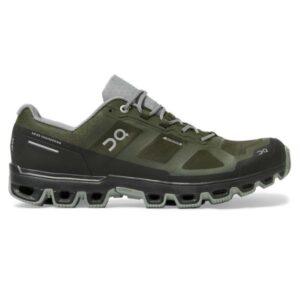 On Cloudventure Waterproof - Mens Trail Running Shoes - Fir/Lunar