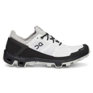 On Cloudventure Peak - Mens Trail Running Shoes - White/Black