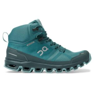 On Cloudrock Waterproof - Womens Hiking Shoes - Storm/Wash