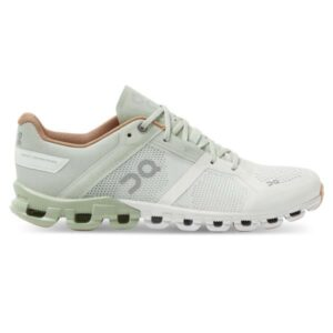 On Cloudflow - Womens Running Shoes - Aloe/White