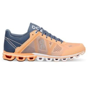 On Cloudflow Classic - Womens Running Shoes - Almond/Grey