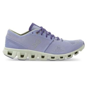 On Cloud X - Womens Running Shoes - Lavender/Ice