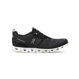 On Cloud Terry - Womens Sneakers - Black/White