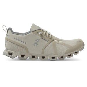 On Cloud Waterproof - Womens Running Shoes - Desert/Lunar