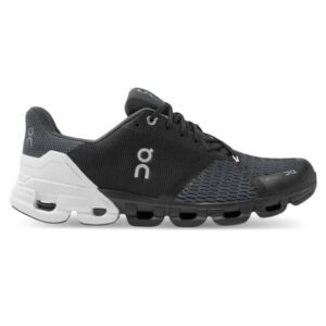 On Cloudflyer - Mens Running Shoes - Black/White