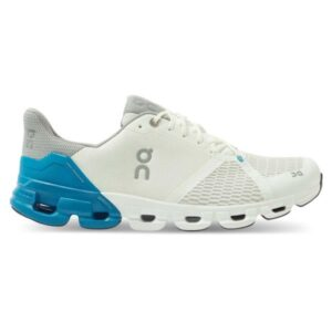 On Cloudflyer - Mens Running Shoes - White/Blue