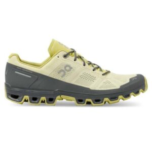 On Cloudventure - Mens Trail Running Shoes - Hay/Rock