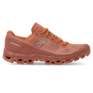 On Cloudventure - Womens Trail Running Shoes - Sandstone/Orange