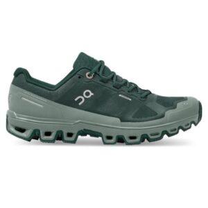 On Cloudventure Waterproof - Womens Trail Running Shoes - Juniper/Sea