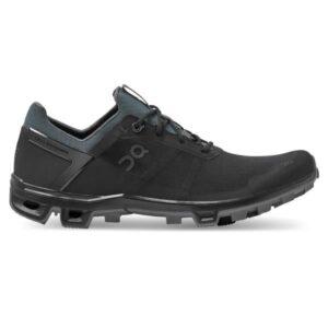 On Cloudventure Peak - Mens Trail Running Shoes - Black/Rock