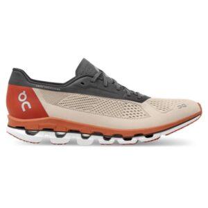 On Cloudboom - Mens Running Shoes - Sandstorm/Eclipse