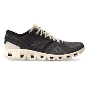 On Cloud X - Womens Running Shoes - Black/Pearl