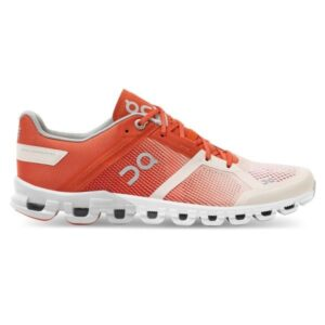 On Cloudflow - Womens Running Shoes - Rust/Rose