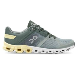 On Cloudflow - Womens Running Shoes - Sea/Limelight