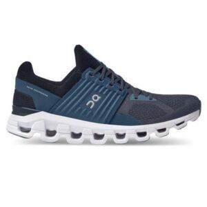 On Cloudswift - Mens Running Shoes - Denim/Midnight