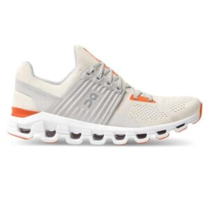 On Cloudswift - Mens Running Shoes - White/Flame