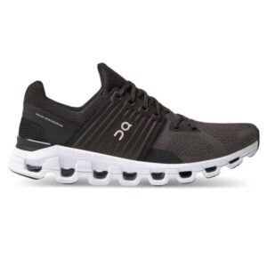 On Cloudswift - Womens Running Shoes - Black/Rock