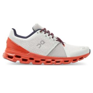 On Cloudstratus - Mens Running Shoes - Mineral/Rust