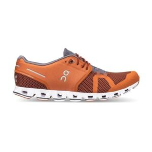 On Cloud - Mens Running Shoes - Russet/Cocoa