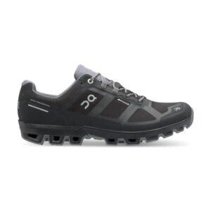 On Cloudventure Waterproof - Mens Trail Running Shoes - Black/Graphite