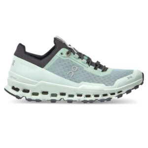 On Cloudultra - Womens Trail Running Shoes - Moss/Eclipse