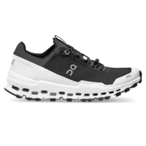 On Cloudultra - Womens Trail Running Shoes - Black/White