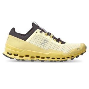 On Cloudultra - Mens Trail Running Shoes - Limelight/Eclipse