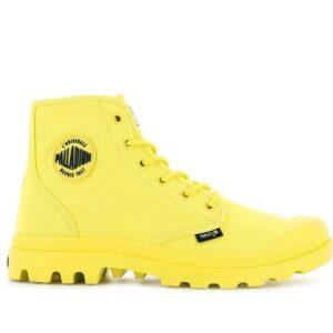 Palladium Pampa Hi Be Kind Blazing Yellow