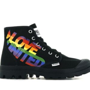 Palladium Pampa Hi Pride Black