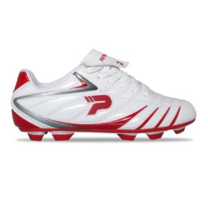 Patrick Alpha - Kids Football Boots - White/Red