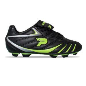 Patrick Alpha - Kids Football Boots - Black/Green