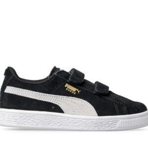 Puma Kids Suede 2 Straps Black