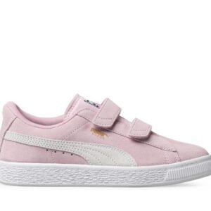 Puma Kids Suede 2 Straps Pink