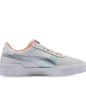 Puma Womens Cali Bold Puma White-Puma Silver
