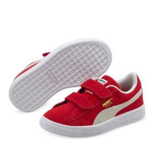 Puma Kids Suede Classic XXI High Risk Red-White