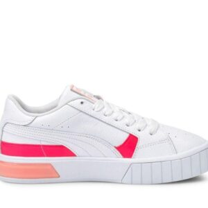 Puma Womens Cali Star Pop Whiteignite Pinkelektro Peach
