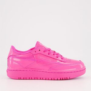 Reebok Womens Cardi B x Club C Double Dynamic Pink