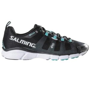 Salming Enroute - Womens Running Shoes - Black/Turquoise