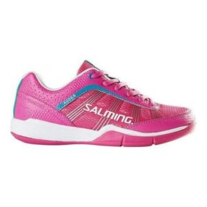 Salming Adder Womens Court Shoes - Pink/Rose Violet