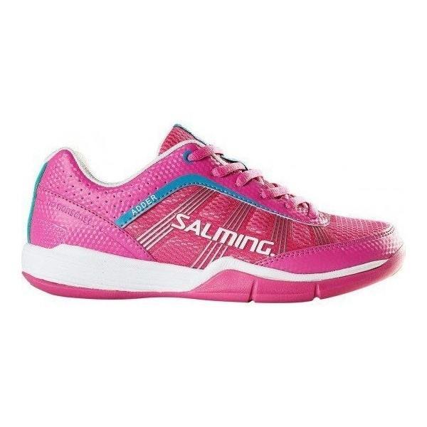 Salming Adder Womens Court Shoes - Pink/Rose Violet