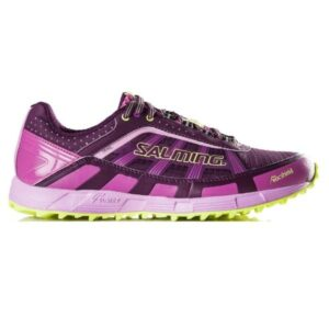 Salming Trail 3 - Womens Trail Running Shoes - Dark Orchid/Azalea Pink