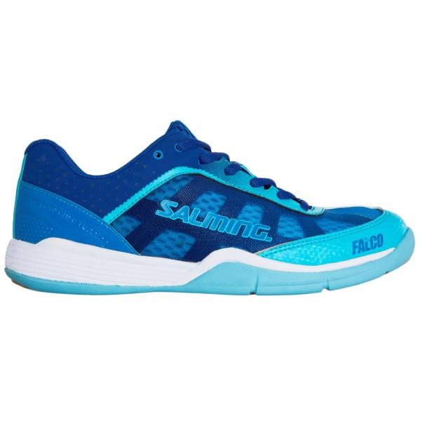 Salming Falco - Womens Court Shoes - Limoges Blue/Blue Atol