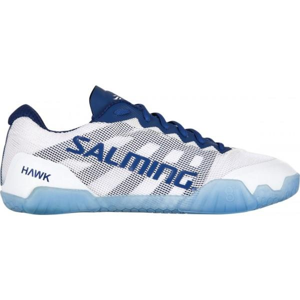 Salming Hawk - Womens Court Shoes - White/Navy