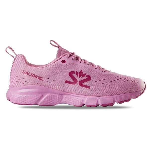 Salming EnRoute 3 - Womens Running Shoes - Pink/Very Berry