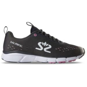 Salming EnRoute 3 - Womens Running Shoes - Forged Iron/White/Very Berry
