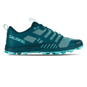 Salming OT Comp - Womens Trail Running Shoes - Deep Teal/Aruba Blue