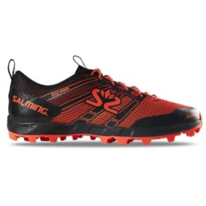 Salming Elements 3 - Womens Trail Running Shoes - Black/New Orange