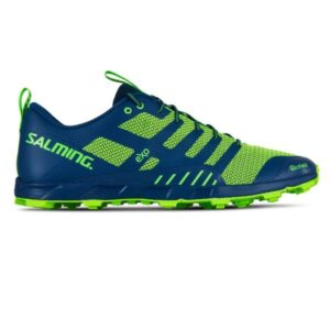 Salming OT Comp - Mens Trail Running Shoes - Poseidon Blue/Safety Yellow