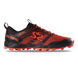 Salming Elements 3 - Mens Trail Running Shoes - Black/New Orange